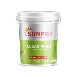 Sơn phủ bóng CLEAR PAINT Sunpro - Sonnuoctot.com