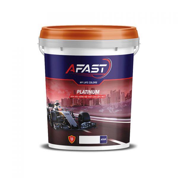 Sơn siêu bóng nội thất cao cấp 7in1 Platinum Afast - Sonnuoctot.com