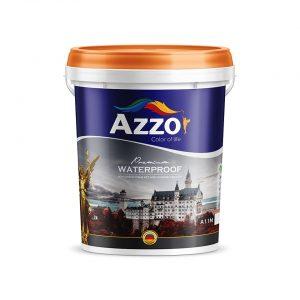 Sơn chống thấm kết hợp xi măng cao cấp Azzo - Sonnuoctot.com