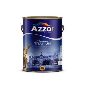 Sơn siêu bóng men sứ ngoại thất cao cấp 8in1 Azzo - Sonnuoctot.com