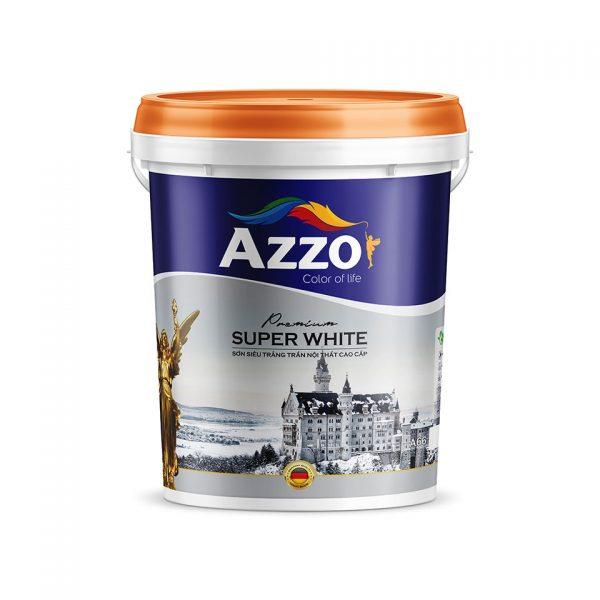 Sơn siêu trắng trần nội thất cao cấp Azzo - Sonnuoctot.com